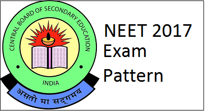 neet 2017 exam pattern