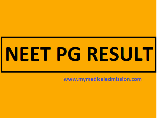 NEET PG Result 2018 – Check Your Results Now
