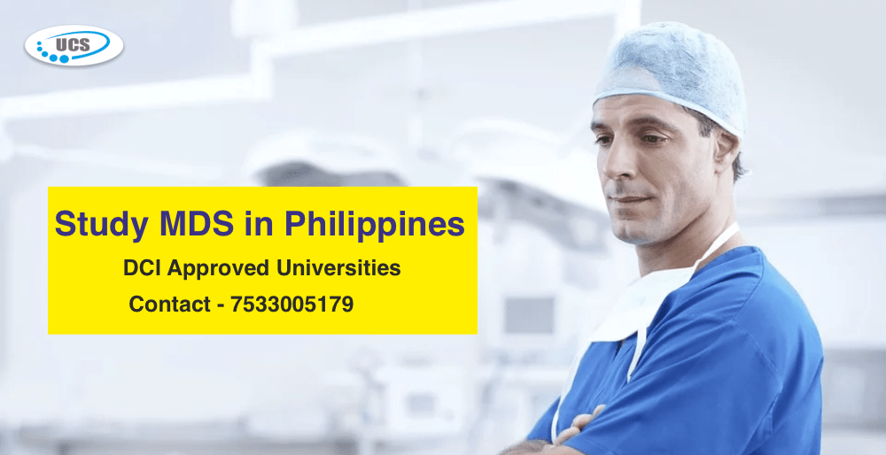 study mds in philippines