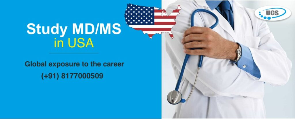 Study MD MS in USA